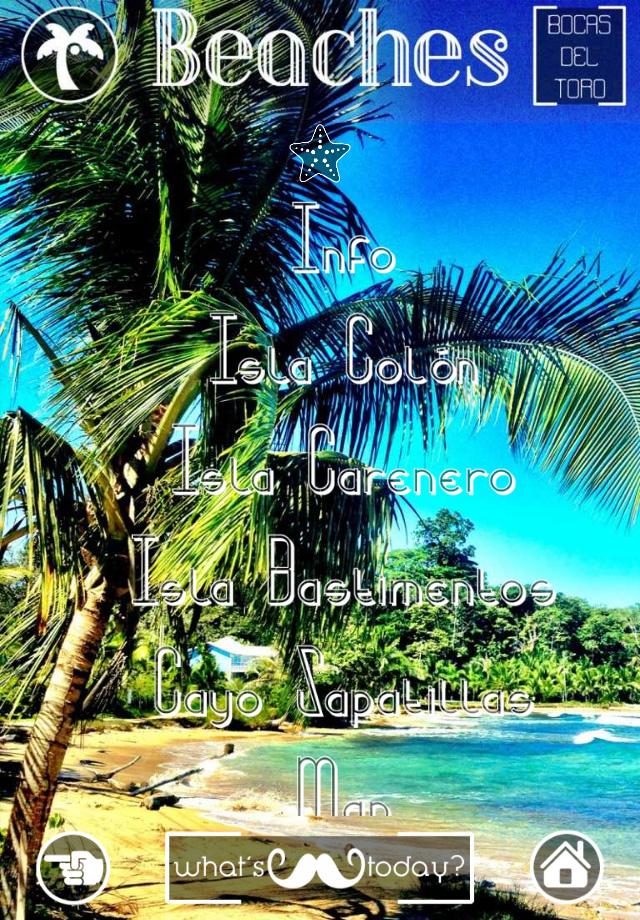 Bocas del Toro - Panama - App