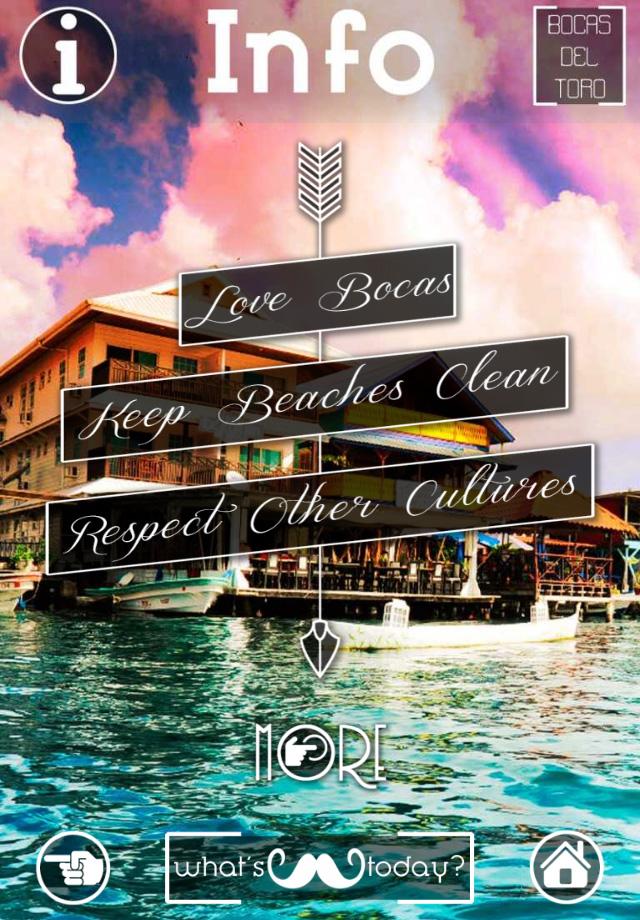 Info Bocas del Toro App