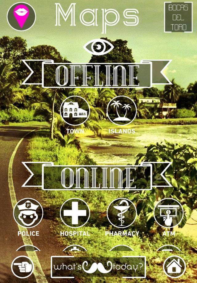 Maps Bocas del Toro App