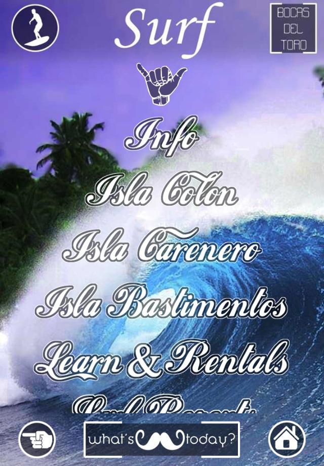 Surf Bocas del Toro App